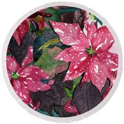 Christmas Beauty Round Beach Towel