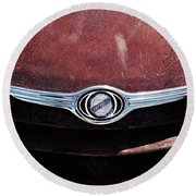Chrysler Hood Round Beach Towel