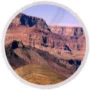 Chuar Butte  Grand Canyon National Park Round Beach Towel