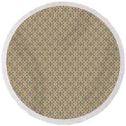 Round Beach Towel featuring the mixed media Chuarts Epic 3000 By Clark Ulysse by Clark Ulysse