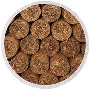 Cigars 262 Round Beach Towel