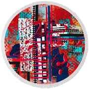 Cinema  Round Beach Towel