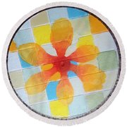 Circle For Daud Round Beach Towel