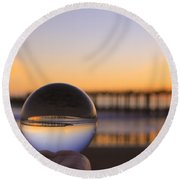 Circles Round Beach Towel