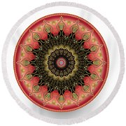 Circularium No 2660 Round Beach Towel by Alan Bennington