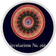 Circularium No 2662 Round Beach Towel