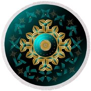 Circularium No 2704 Round Beach Towel