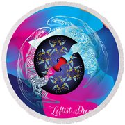 Circularium No 2719 Round Beach Towel by Alan Bennington