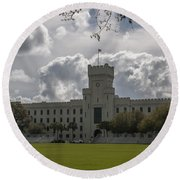 Citadel Military College Round Beach Towel