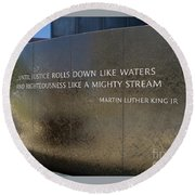 Civil Rights Memorial Round Beach Towel