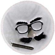 Classic Groucho Round Beach Towel