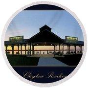 Clayton Pavilion Round Beach Towel
