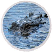 Clear And Present Danger Round Beach Towel