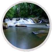 Clear Creek Round Beach Towel