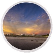 Clearwater Intercoastal Round Beach Towel