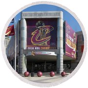 Cleveland Cavaliers The Q Round Beach Towel