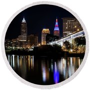 Cleveland In The World Series 2016 Round Beach Towel