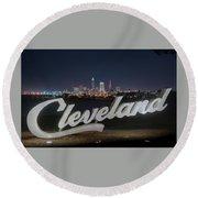 Cleveland Pride Round Beach Towel