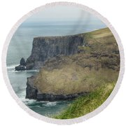 Cliffs Of Moher 1 Round Beach Towel