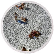 Clifton Beach, Cape Town Round Beach Towel