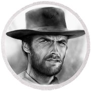 Clint Round Beach Towel