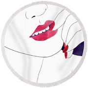 Closer IIi Round Beach Towel