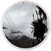 Cloud Forest Musings Round Beach Towel