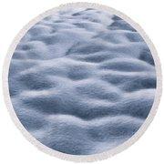 Cloud Nine Round Beach Towel