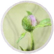 Clover Round Beach Towel
