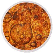 Round Beach Towel featuring the photograph Clustering by Sami Tiainen