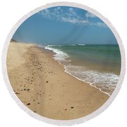 Coast Guard Beach Cape Cod Round Beach Towel