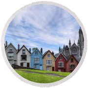 Cobh - Ireland Round Beach Towel