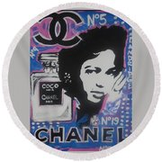 Coco Dandridge Round Beach Towel