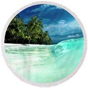 Coconut Water Round Beach Towel