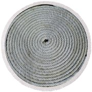 Coiled By D Hackett Round Beach Towel