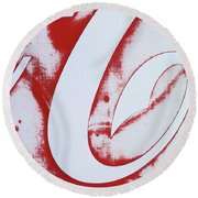 Coke 3 Round Beach Towel