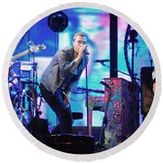 Coldplay7 Round Beach Towel