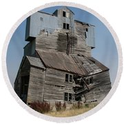Collapsible Barn Round Beach Towel