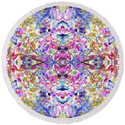 Collective Dream Ascends Round Beach Towel