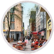 Cologne Koln, Germany Round Beach Towel