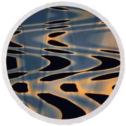 Color Abstraction Xxiv  Round Beach Towel