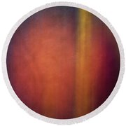 Color Abstraction Xxvii Round Beach Towel