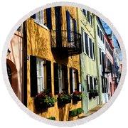 Color Of Charleston Round Beach Towel