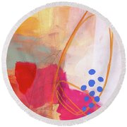 Color, Pattern, Line #2 Round Beach Towel