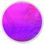 Color Surge Round Beach Towel