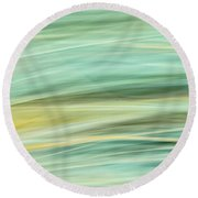 Color Swipe Round Beach Towel