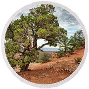 Colorado National Monument Round Beach Towel