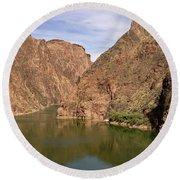 Colorado River, Grand Canyon Round Beach Towel