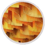 Colorful Bamboo Ceiling- China Round Beach Towel