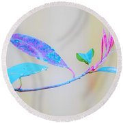 Colorfully Designed Round Beach Towel